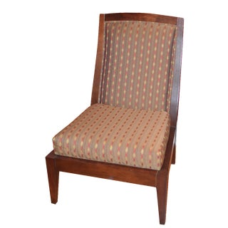 Vanguard Wooden Upholstered Accent Chair