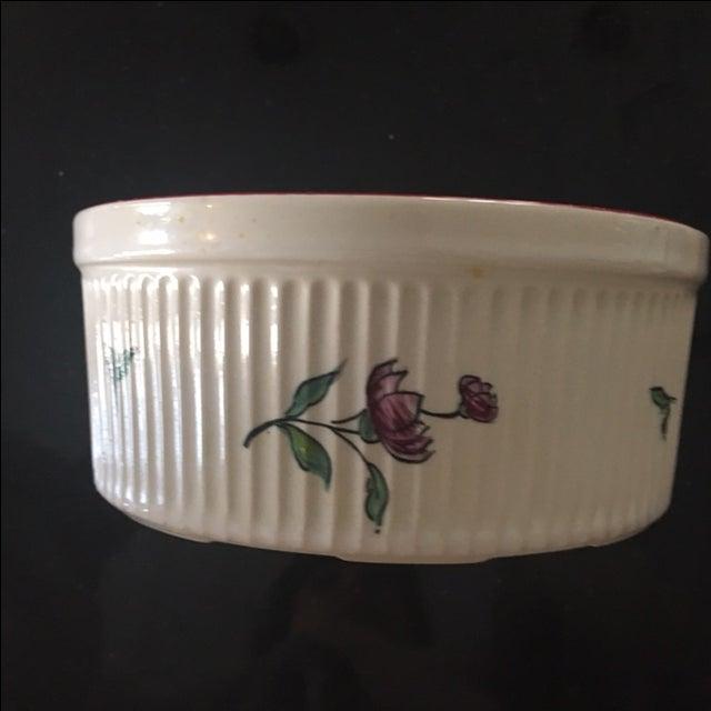 Vestal Porcelain Souffle Bowl - Image 6 of 7