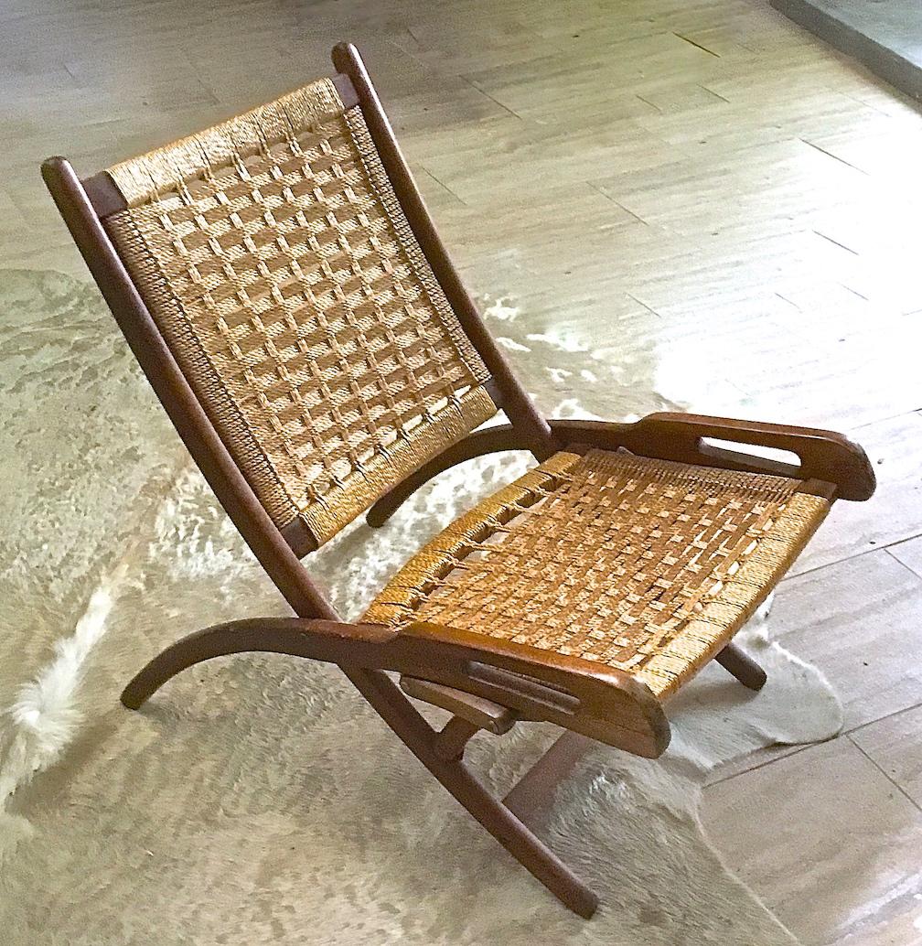 Hans Wegner Mid Century Folding Chair