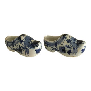 Mini Delft Klompen Traditional Dutch Shoes - A Pair