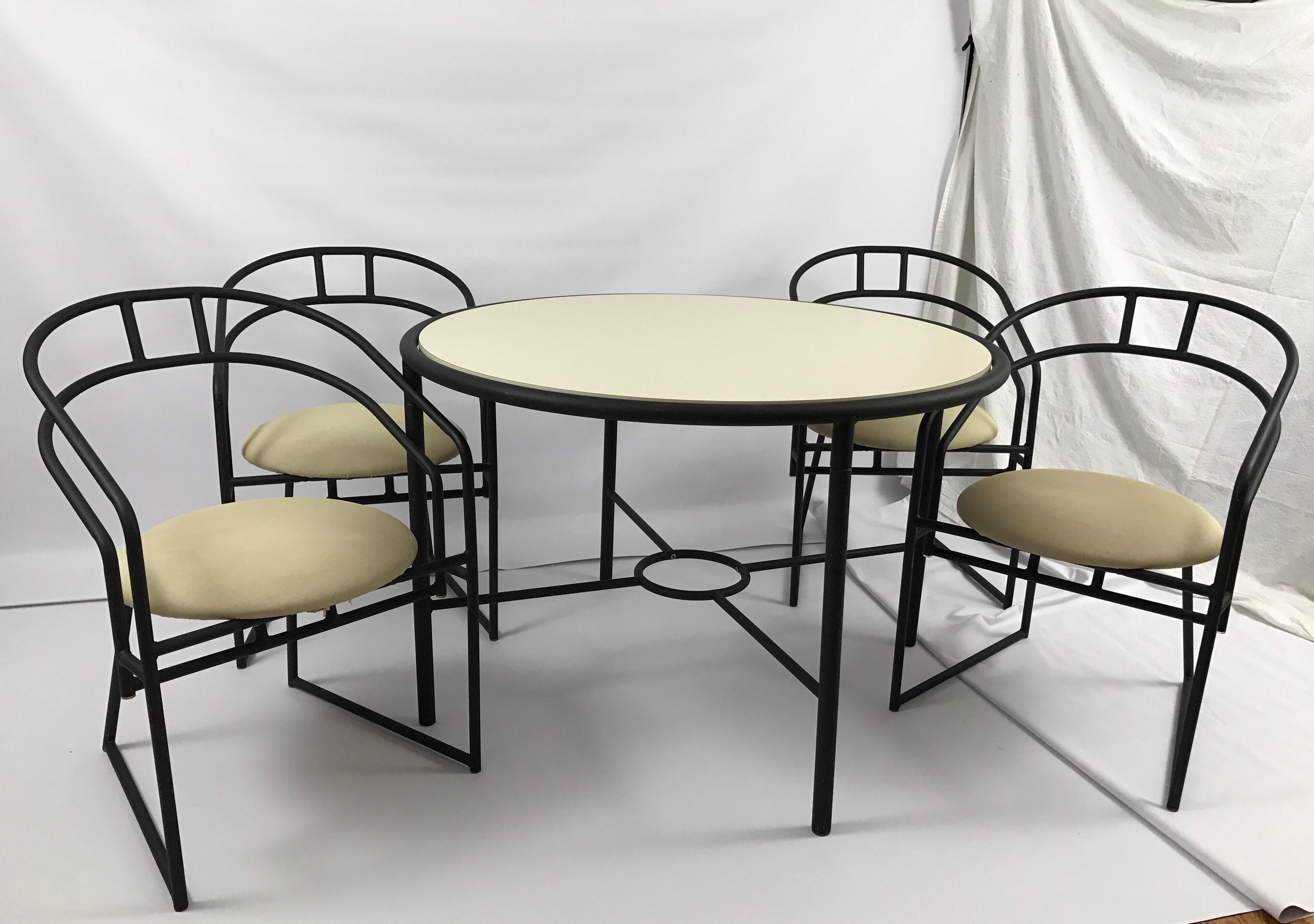 Vintage Cal Style Furniture Dining Set   Image 3 Of 11
