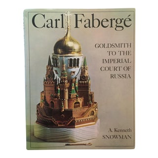 "Vintage ""Carl Faberge"" Decorative Arts Hardcover Book"