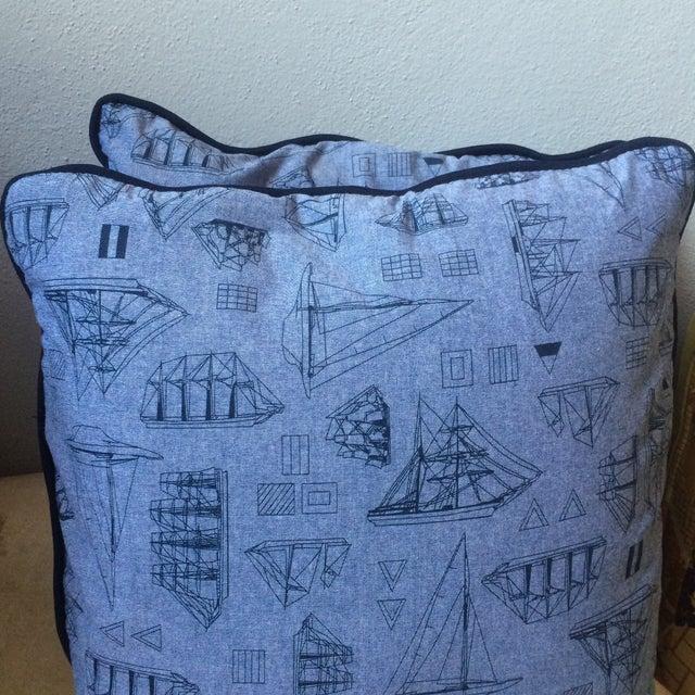 Set of Three Nautical Pillows - Image 6 of 8