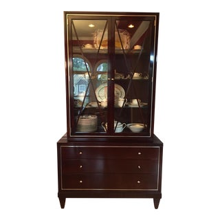 "Baker ""Barbara Barry Collection"" Glass Front Cabinet"