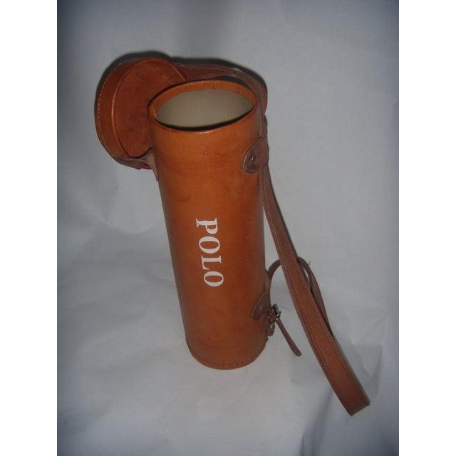 Image of Leather Polo Balls Bag