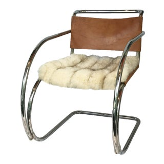 Mies Van Der Rohe MR Chair With Arms
