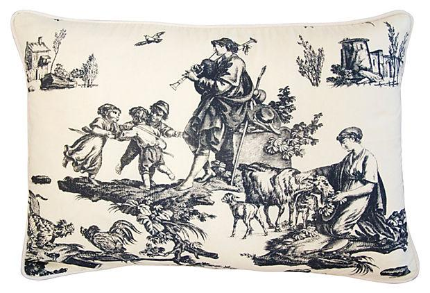 French Countryside Toile Pillows a Pair Chairish : fbd2b2e4 52c8 4802 8db3 0b82b1f0a55faspectfitampwidth640ampheight640 from www.chairish.com size 620 x 620 jpeg 70kB