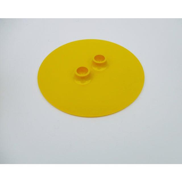 Massimo Vignelli Yellow Melamine Salad Bowl - Image 8 of 11