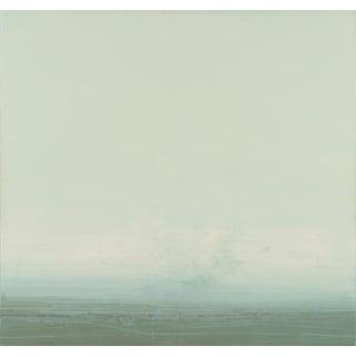 Coastal Redux #190, 2015, Oil, printer's ink, glue medium on panel by Dan Gualdoni.