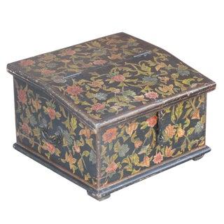 Floral Painted Desk Box