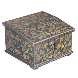 Floral Painted Desk Box