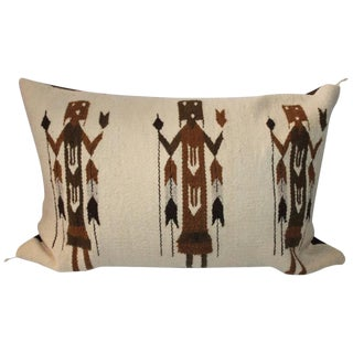 Yea American Indian Pictorial Weaving Pillow