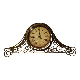 Sterling and Noble Mantle Clock
