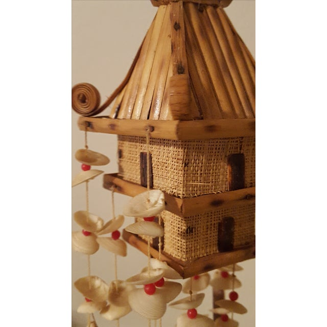 Oriental Pagoda with Sea Shell Chimes - Image 5 of 7