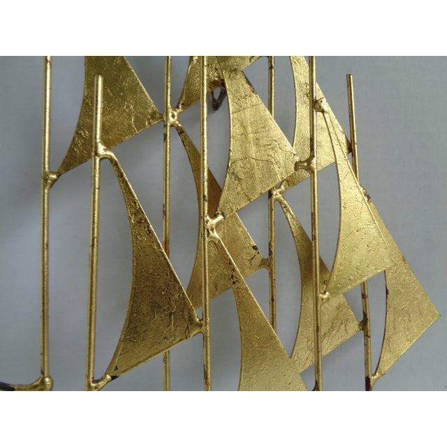 Mid-Century Ship Sculpture by Bowie - Image 3 of 6