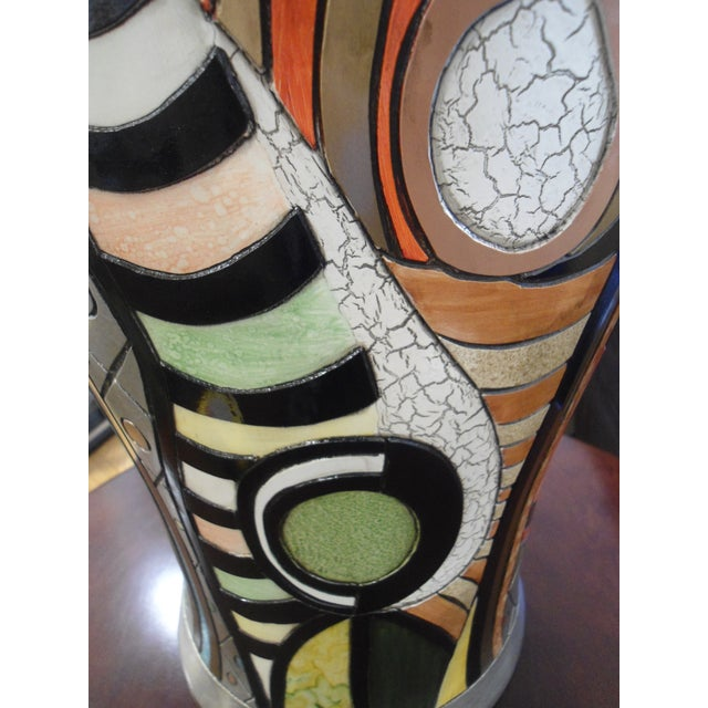 """""""Girl Before a Mirror"""" Picasso Vase - Image 6 of 7"""