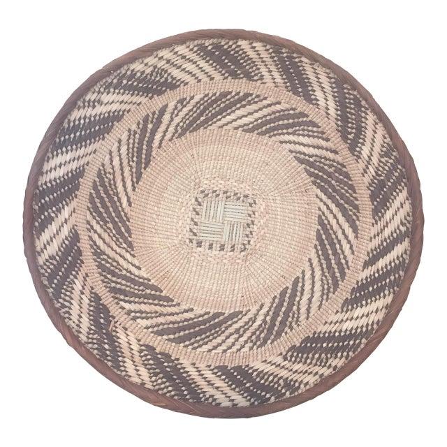 African Tonga Basket Bowl - Image 1 of 5
