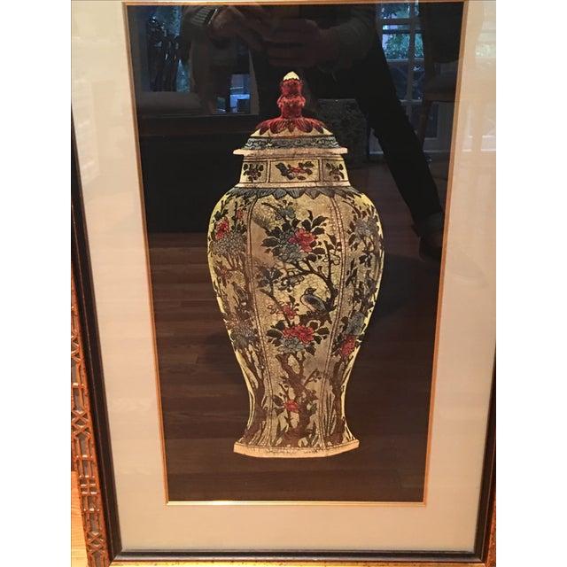 Framed Ginger Jar Prints - A Pair - Image 6 of 9