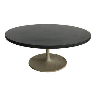 Jens Risom Slate Tulip Coffee Table