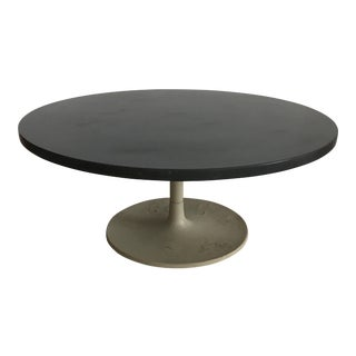 Jens Risom Slate Tulip Coffee Table