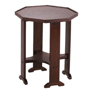 Stickley Mission Octagonal Side Table