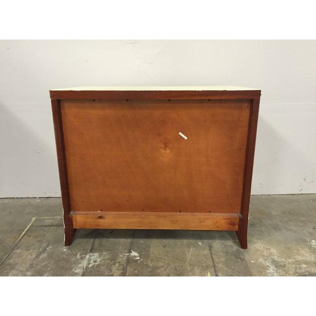 Shabby Chic 2-Toned Dresser - Image 8 of 8