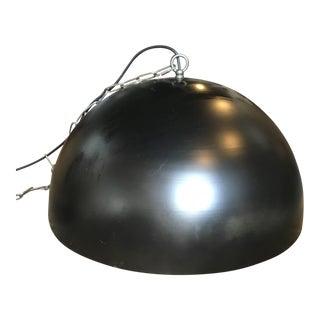 Black Dome Pendent Light