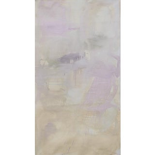"Large Minimalist Abstract by Trixie Pitts ""Sand Storm"""