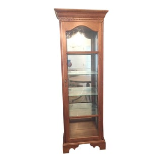 Vintage Corner Display Cabinet