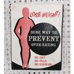 """Image of Vintage """"Lose Weight!"""" Joke Set"""
