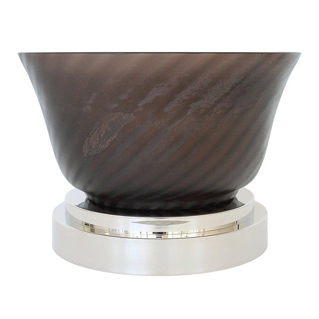 Cenedese Murano Scavo Glass Bowl - Image 1 of 10