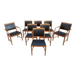 Bertil Fridhagen Teak DANISH MODERN Dining Chairs 8