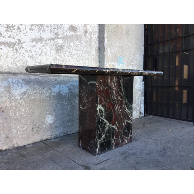 Marble Entryway Console Table - Image 5 of 6