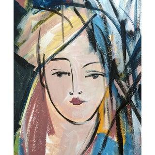 Women II Portrait Drawing by Heidi Lanino