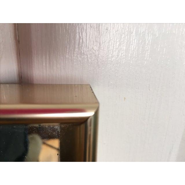 Vintage Modern Gold Frame Mirror - Image 3 of 8