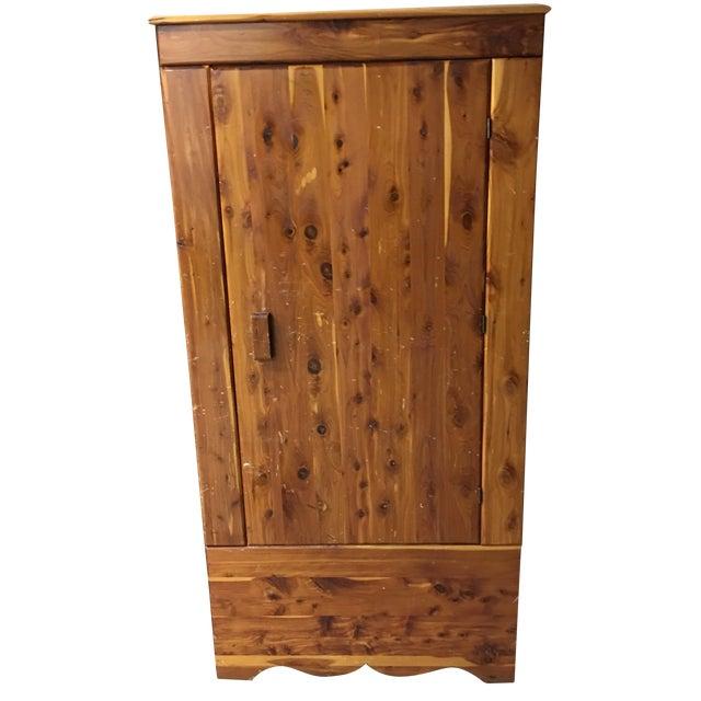 Image of Vintage Cedar Armoire