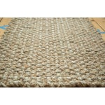 Image of Braided Gray Fiber Entrance Mat - 2′3″ × 3′1″