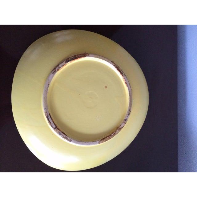Image of Memphis Style MCM Tray Ceramic 1960s