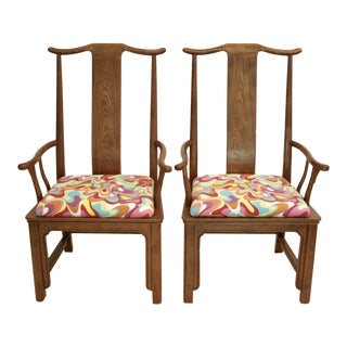 Chinoiserie Arm Chairs - A Pair