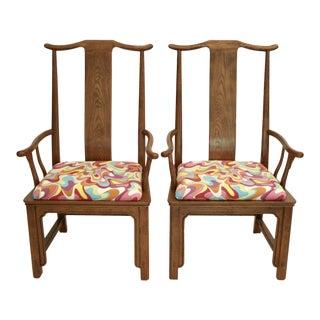 Chinoiserie Arm Chairs - A Pair