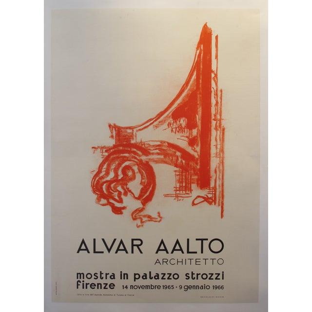 Original 1965 Alvar Aalto Exhibition Poster - Image 2 of 3