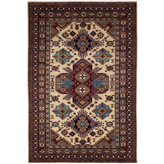 "New Traditional Hand Knotted Area Rug - 5'10"" x 8'7"""