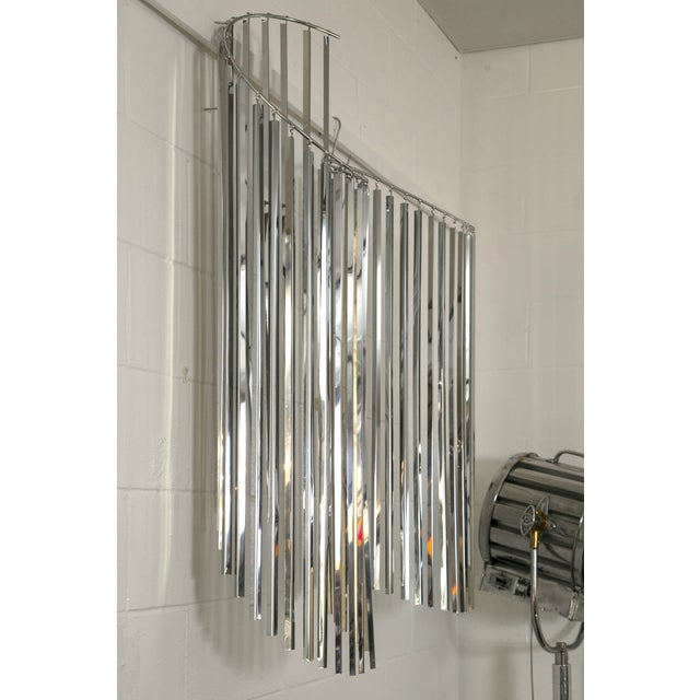 Curtis Jere Silver Kinetic Wall Hanging - Image 4 of 9