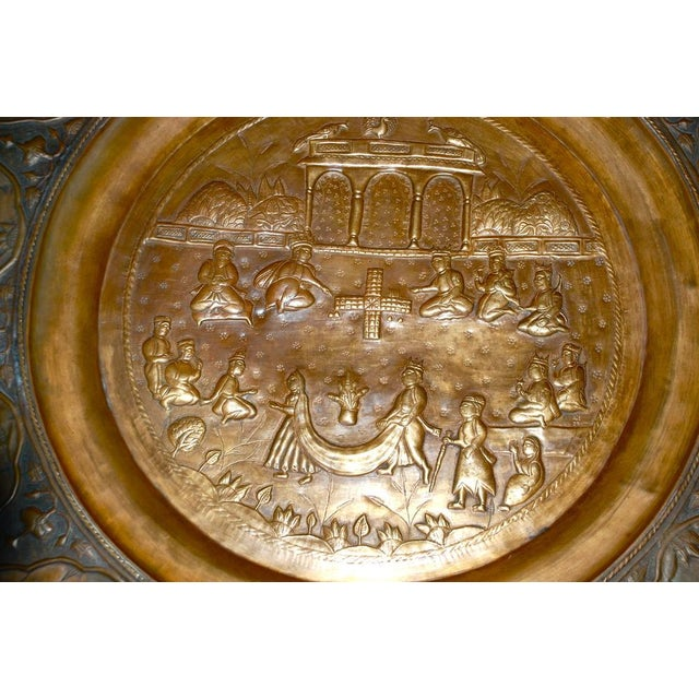 Anglo-Indian Copper Tray Table With Folding Wooden - Image 6 of 6