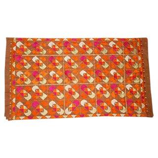 Vintage Phulkari Dowry Cloth