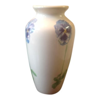 Tiffany & Co. Porcelain Blossom Iris Vase