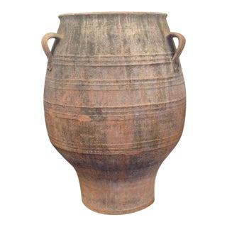Grecian Terra Cotta Olive Oil Vessel
