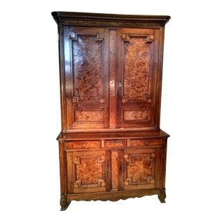 19th C. French Linen Press