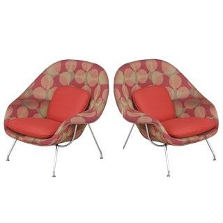 Knoll Eero Saarinen Small Womb Chairs - A Pair