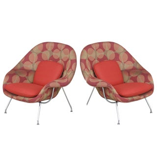 Pair of Knoll Eero Saarinen Small Womb Chairs